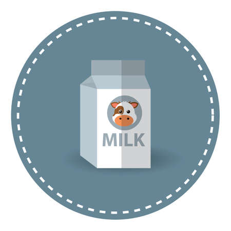 envase de leche: cartón de leche