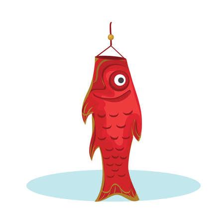 windsock: fish windsock