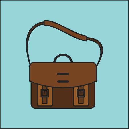 Messenger: messenger bag Illustration