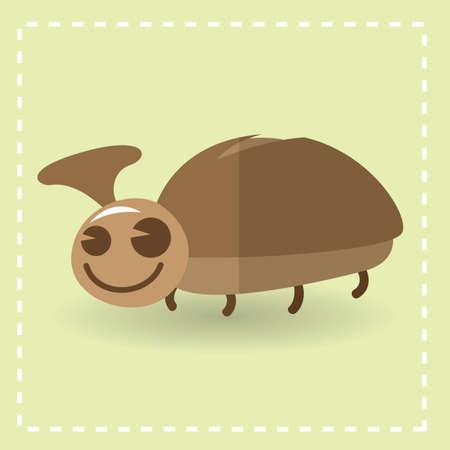 entomology: beetle Illustration