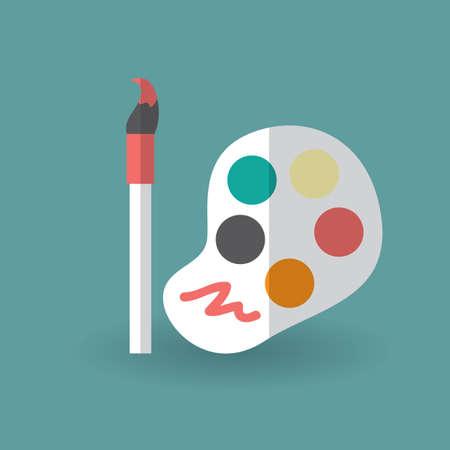 paint palette: paint palette