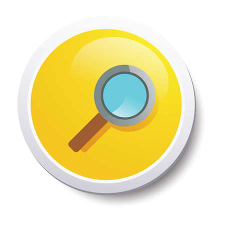 magnifier: shopping magnifier Illustration