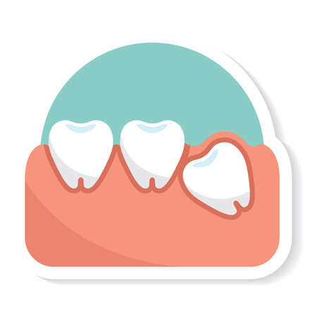 impacted: impacted tooth