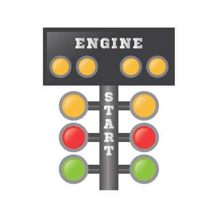 racing lights