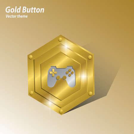 game controller: game controller button