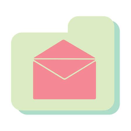 messaging: messaging icon Illustration