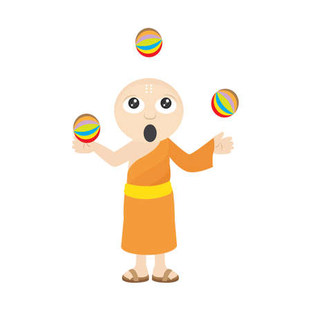 moine: moine balles de jonglage