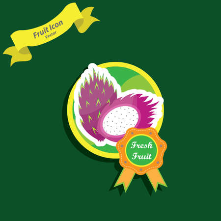 dragon fruit: dragon fruit label