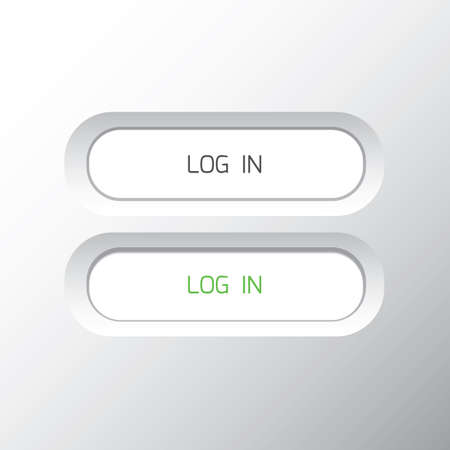 log in: log in button