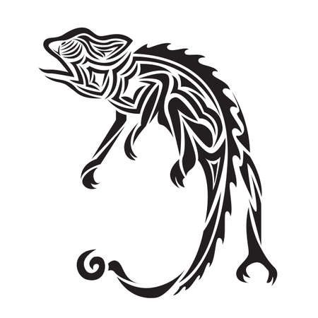 chameleons: chameleon tattoo