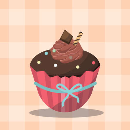 sprinkle: fancy cupcake