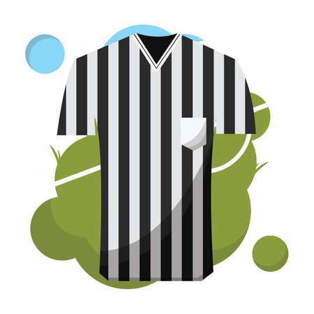 árbitro en jersey