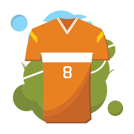 jersey: soccer jersey Illustration