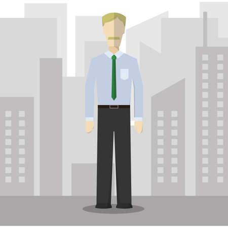 attire: businessman in formal attire