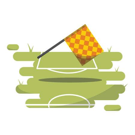 linesman: linesman referee flag