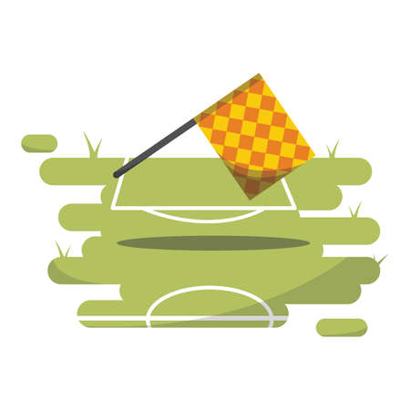 referee: linesman referee flag