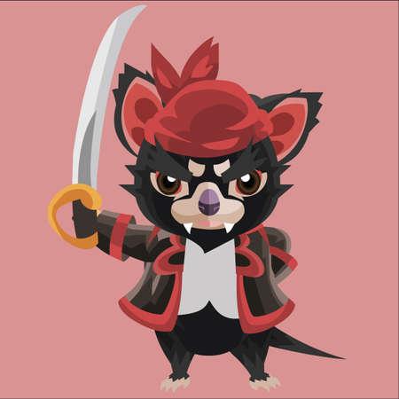 tasmanian: tasmanian devil pirate