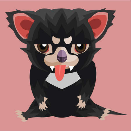 tasmanian: unhappy tasmanian devil