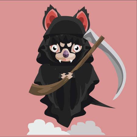 tasmanian: tasmanian devil grim reaper