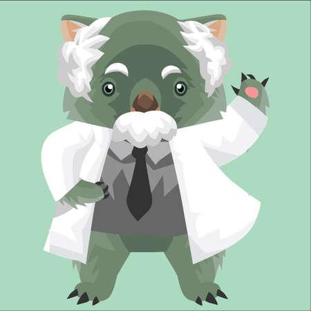 wombat: profesor wombat