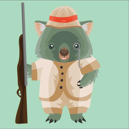 wombat: cazador wombat