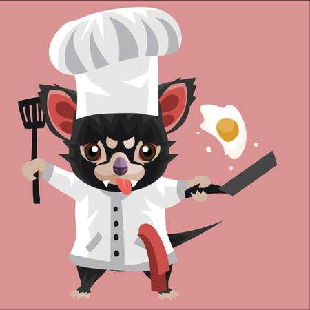 tasmanian: tasmanian devil chef