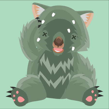 wombat: wombat mal Vectores