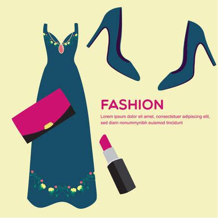 maxi dress: fashion catalogue