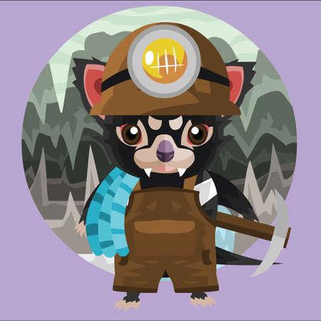 tasmanian: tasmanian devil miner