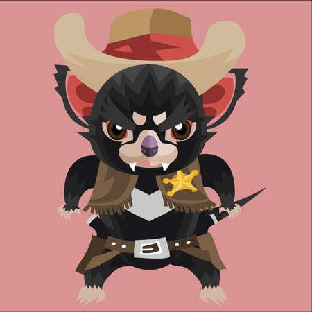 tasmanian: tasmanian devil cowboy