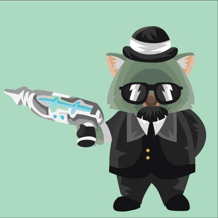 ray gun: wombat secret agent