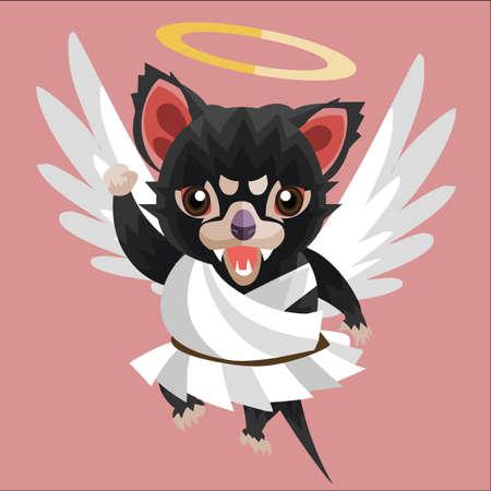 tasmanian: tasmanian devil angel