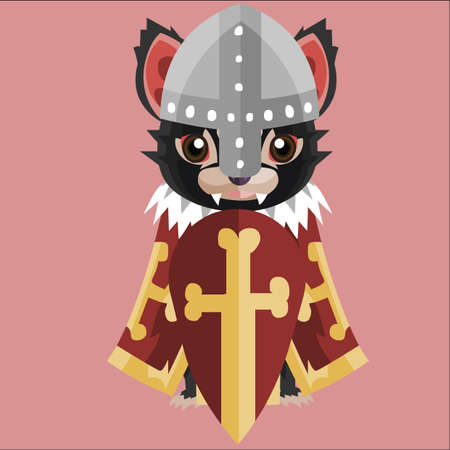 tasmanian: tasmanian devil in medieval costume