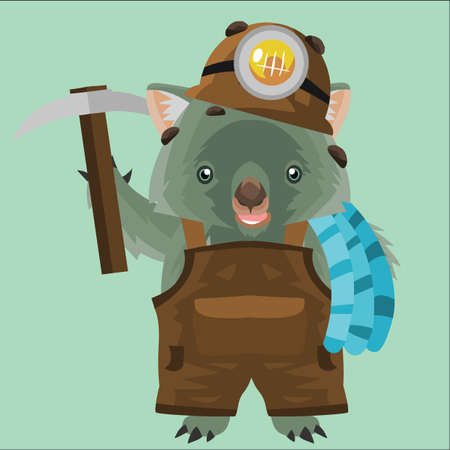 outerwear: wombat miner