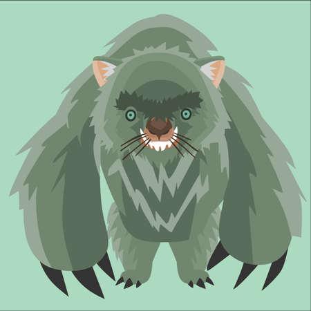 wombat: monstruo wombat