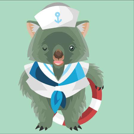 wombat: marinero wombat
