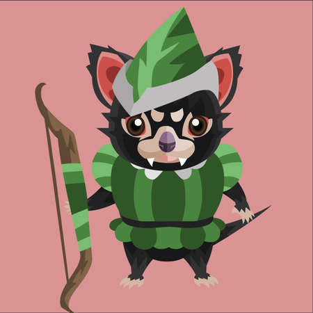 tasmanian: tasmanian devil archer
