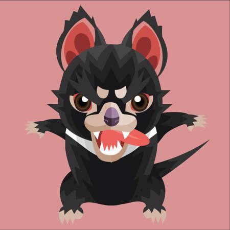 tasmanian: hungry tasmanian devil