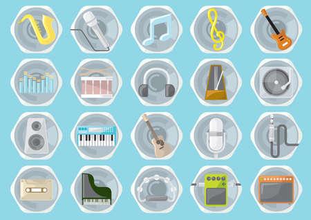 instruments et matériel de musique