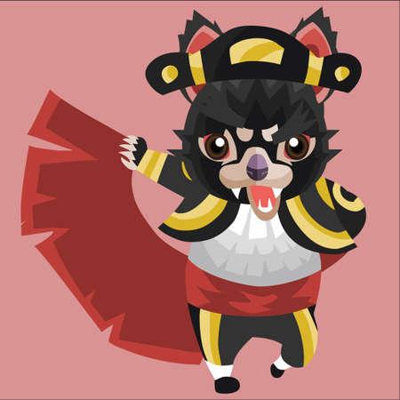 tasmanian: tasmanian devil as a matador Illustration