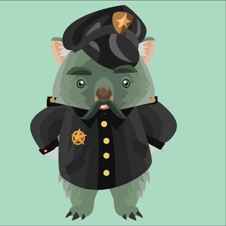 wombat: policía wombat