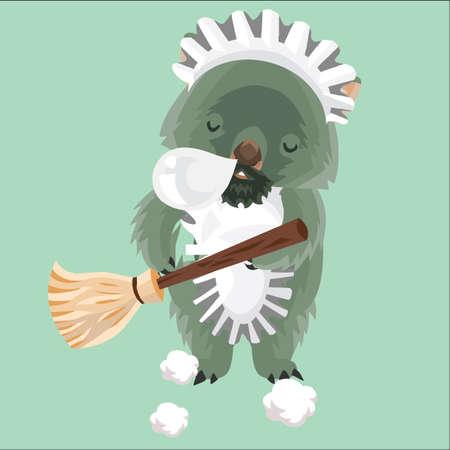 wombat: limpiador de wombat sueño