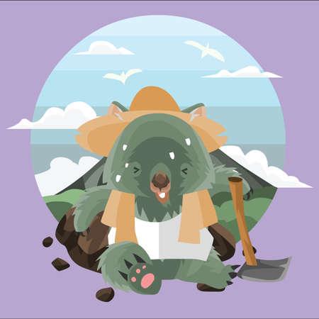 wombat: agricultor wombat