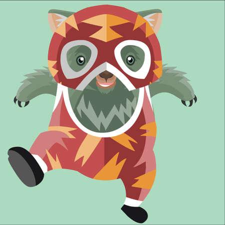 wombat: luchador wombat Vectores