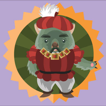 wombat: wombat in renaissance clothing