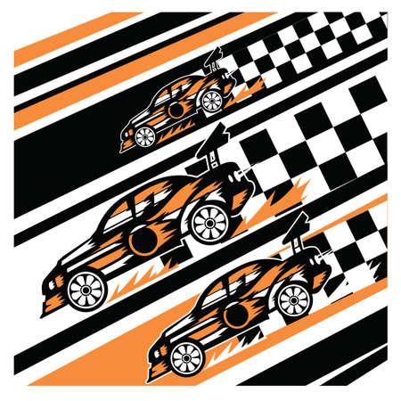 wheeler: car in race