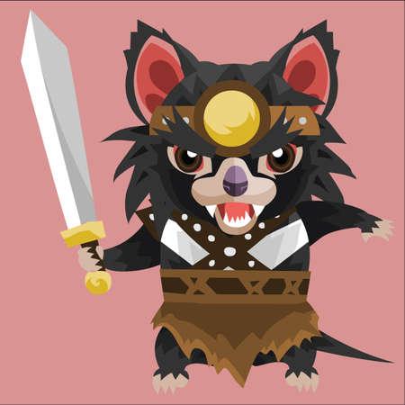 tasmanian: tasmanian devil warrior