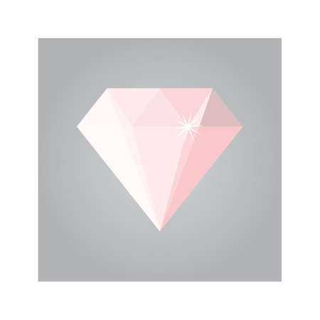 diamond stones: gem stone Illustration