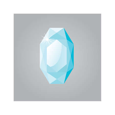 gem: gem stone Illustration