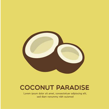 coconuts: coconut